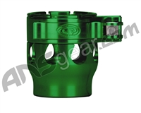 Custom Products Clamping Feed Neck - Autococker/Bob Long Thread - Green