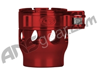 Custom Products Clamping Feed Neck - Autococker/Bob Long Thread - Red