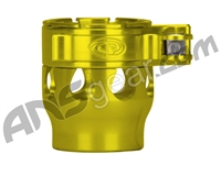 Custom Products Clamping Feed Neck - Autococker/Bob Long Thread - Yellow