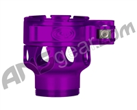 Custom Products Clamping Feed Neck - Dangerous Power/Dye/Proto Thread - Purple