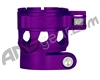 Custom Products Clamping Feed Neck - Planet Eclipse Late Model Ego/Etek Style Thread - Dust Purple
