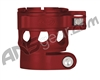 Custom Products Clamping Feed Neck - Planet Eclipse Late Model Ego/Etek Style Thread - Dust Red