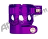 Custom Products Clamping Feed Neck - Planet Eclipse Late Model Ego/Etek Style Thread - Purple