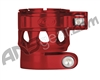 Custom Products Clamping Feed Neck - Planet Eclipse Late Model Ego/Etek Style Thread - Red