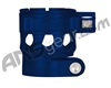 Custom Products Clamping Feed Neck - Planet Eclipse Early Model Ego/Etek Style Thread - Dust Blue