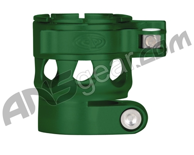 Custom Products Clamping Feed Neck - Planet Eclipse Early Model Ego/Etek Style Thread - Dust Green