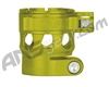Custom Products Clamping Feed Neck - Planet Eclipse Early Model Ego/Etek Style Thread - Dust Yellow