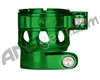 Custom Products Clamping Feed Neck - Planet Eclipse Early Model Ego/Etek Style Thread - Green