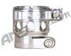 Custom Products Clamping Feed Neck - Planet Eclipse Early Model Ego/Etek Style Thread - Silver