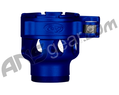 Custom Products Clamping Feed Neck - Azodin/Empire/Kingman/Smart Parts/WDP Thread - Dust Blue