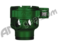 Custom Products Clamping Feed Neck - Azodin/Empire/Kingman/Smart Parts/WDP Thread - Dust Green