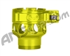Custom Products Clamping Feed Neck - Azodin/Empire/Kingman/Smart Parts/WDP Thread - Yellow