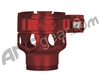 Custom Products Clamping Feed Neck - Smart Parts Shocker NXT/Ion XE Thread - Red