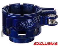 Custom Products CP Ion No-Rise Clamping Feed Neck - Blue