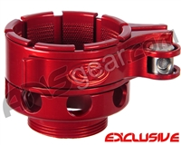 Custom Products CP Ion No-Rise Clamping Feed Neck - Red