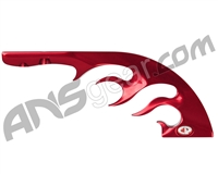 Custom Products Spyder Flame Drop Forward - Red