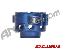 Custom Products CP Spyder VS1, VS2, VS3, RS, & RSX No-Rise Clamping Feed Neck - Dust Blue