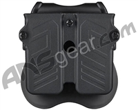 Cytac Universal Double Magazine Pouch - Black (103425)