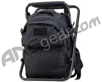 Defcon Gear Tactical Backpack Chair - Black