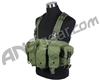 Defcon Gear 600 Denier AK Tactical Airsoft Belly Rig Vest - OD