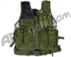 Defcon Gear 600 Denier Tactical Crossdraw Airsoft Vest - Olive Drab