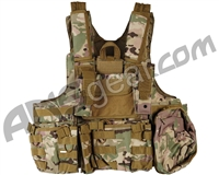 Defcon Gear 900 Denier Complete CFR Carrier Airsoft Vest - Multicam