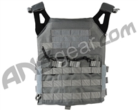Defcon Gear Low Profile Plate Carrier Airsoft Vest - Gray