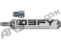 D3FY Sports 90gram CO2 Cartridge w/ Adapter
