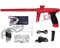 DLX Luxe Ice Paintball Gun - LE 3D Splash Dust Red/Polished Red