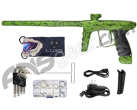 DLX Luxe Ice Paintball Gun - LE 3D Splash Green/Black