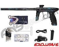 DLX Luxe Ice Paintball Gun - Polished Acid Blue