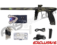 DLX Luxe Ice Paintball Gun - Polished Acid Green