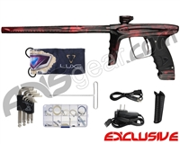 DLX Luxe Ice Paintball Gun - Polished Acid Red