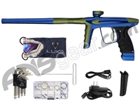 DLX Luxe Ice Paintball Gun - Blue/Dust Olive