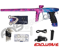 DLX Luxe Ice Paintball Gun - Blue/Pink Fade