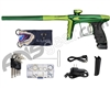 DLX Luxe Ice Paintball Gun - British Racing Green/Dust Slime w/ Black ASA