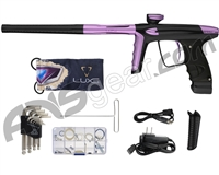 DLX Luxe Ice Paintball Gun - Dust Black/Dust Light Purple