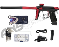 DLX Luxe Ice Paintball Gun - Dust Black/Dust Red