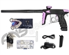 DLX Luxe Ice Paintball Gun - Dust Black/Dust Light Purple w/ Black Freak Back