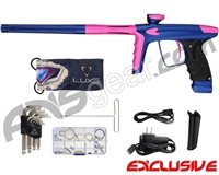 DLX Luxe Ice Paintball Gun - Dust Blue/Dust Pink