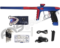 DLX Luxe Ice Paintball Gun - Dust Blue/Dust Red