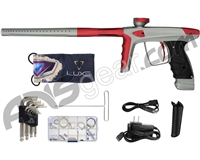 DLX Luxe Ice Paintball Gun - Dust Grey/Dust Red