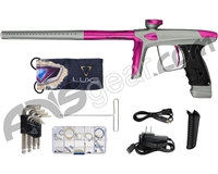 DLX Luxe Ice Paintball Gun - Dust Grey/Pink