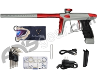 DLX Luxe Ice Paintball Gun - Dust Grey/Red