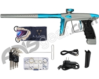 DLX Luxe Ice Paintball Gun - Dust Grey/Teal