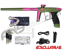 DLX Luxe Ice Paintball Gun - Dust Olive/Dust Pink
