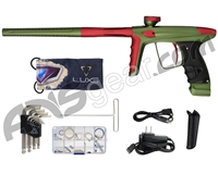 DLX Luxe Ice Paintball Gun - Dust Olive/Dust Red