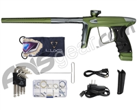 DLX Luxe Ice Paintball Gun - Dust Olive/Pewter