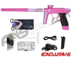 DLX Luxe Ice Paintball Gun - Dust Pink/Dust Light Purple
