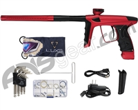 DLX Luxe Ice Paintball Gun - Dust Red/Black